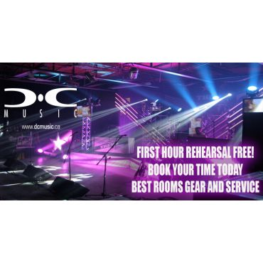 D C Music Rehearsal & recording Studios logo