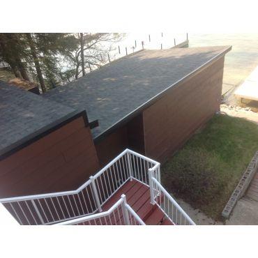 Crane Lake roof