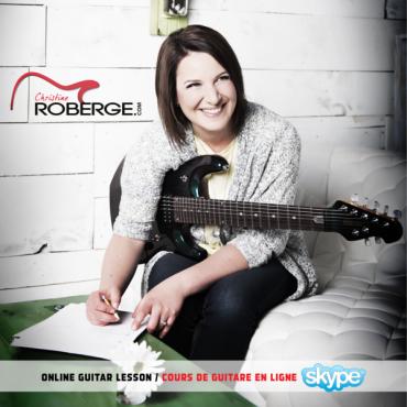 École de Guitare Spécialisée Christine Roberge logo