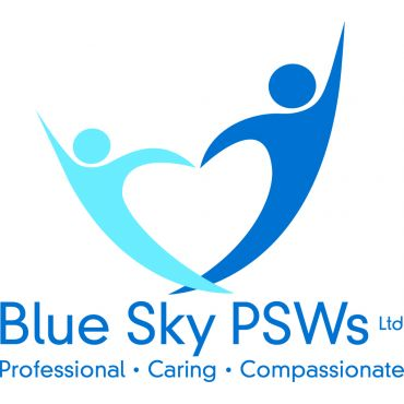 Blue Sky Personal Support Workers logo