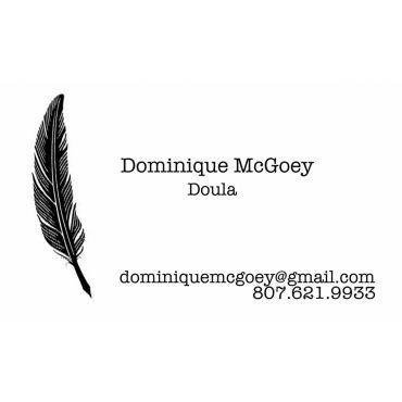 Dominique McGoey Birth Doula logo