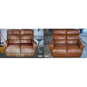 leather furniture redye