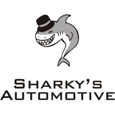 Sharky's Towing logo
