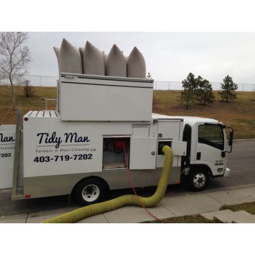 Tidy Man Furnace & Duct Cleaning PROFILE.logo