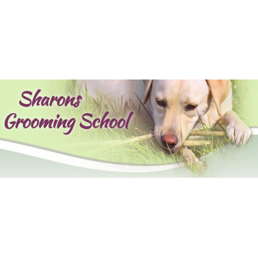 Glamour paws grooming academy logo