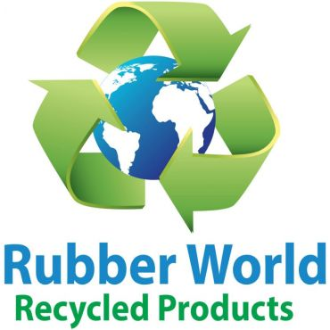 RubberWorld Recycled Products logo