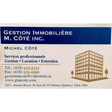 Gestion Immobilière M. Côté Inc logo