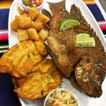 Whole Fried Tilapia Fish