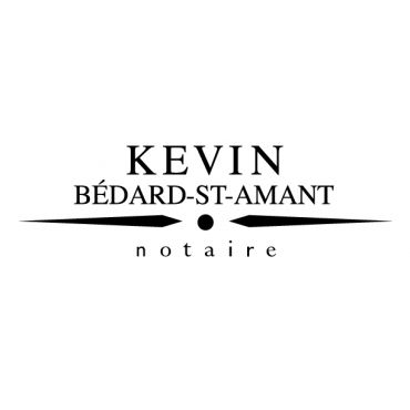 Kevin Bédard-St-Amant, notaire logo