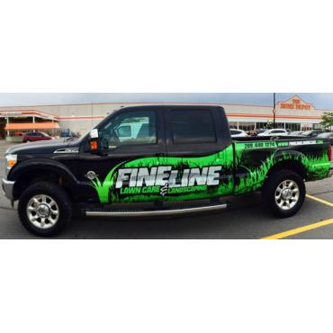 Fine Line Lawn Care logo