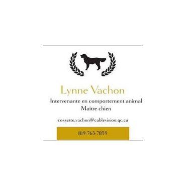 Lynne Vachon,  Intervenante en comportement animal- Maître chien logo