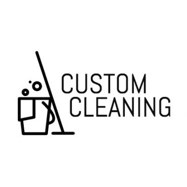 Custom Cleaners logo