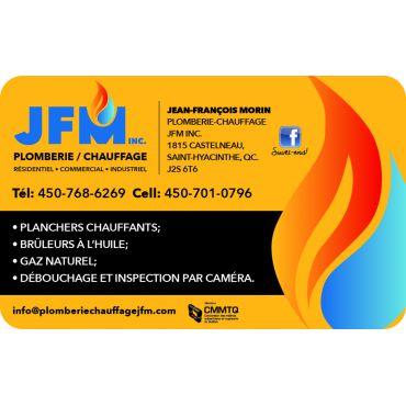 Plomberie-Chauffage JFM Inc. PROFILE.logo