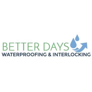 Better Days Waterproofing & Interlocking logo