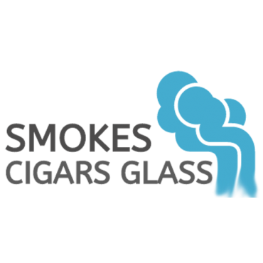 Smokes Cigars Glass logo