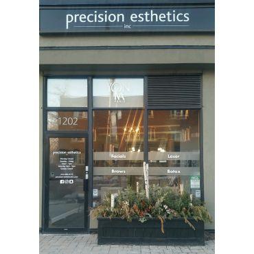 Come inside precision esthetics inc!