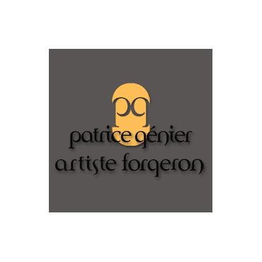 Patrice Génier Artiste Forgeron logo