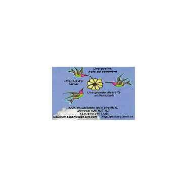 Garderie Educative Le Jardin Des Colibris PROFILE.logo