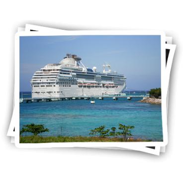 Ocho Rios cruise ship