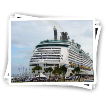 Famouth cruise ship