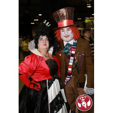 Queen of Hearts and the Mad Hatter