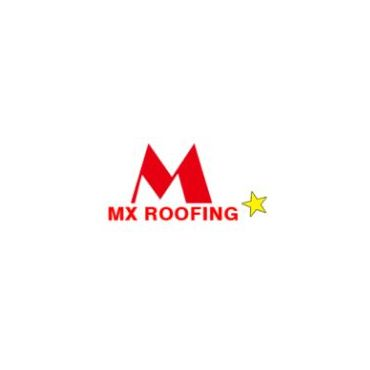 MX Roofing logo