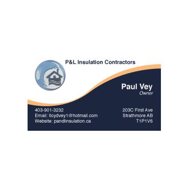 P&L Insulation Contractors logo
