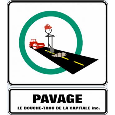 Pavage Le Bouche-Trou de la Capitale logo