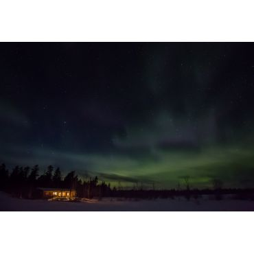 See northern Lights from your cottage