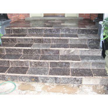 Stone enterance ways