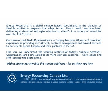 Energy Resourcing Canada Ltd.