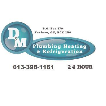 D & M Plumbing Heating Refrigeration logo