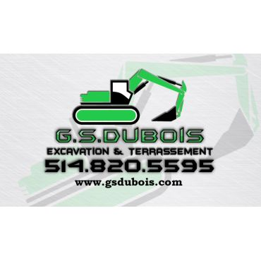 G.S.Dubois Excavation & Terrassement PROFILE.logo