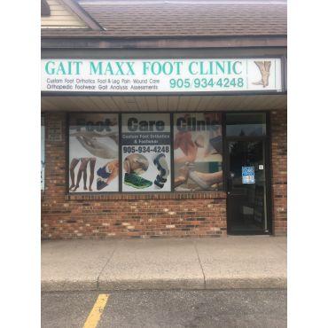 Gait Maxx Foot Care Clinic PROFILE.logo