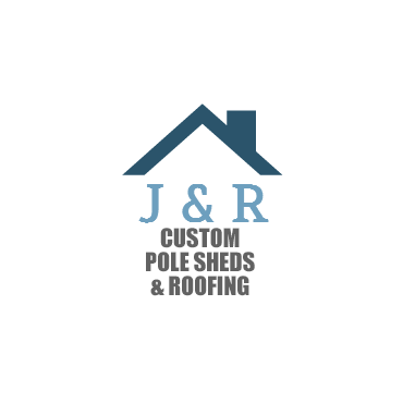 J & R Custom Pull Sheds & Roofing PROFILE.logo