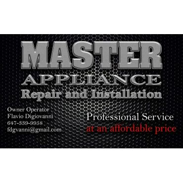Master Appliance Repair and Installation PROFILE.logo