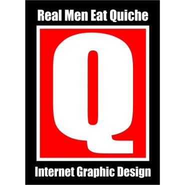 Real Men Eat Quiche PROFILE.logo