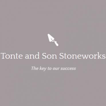 Tonte and Son Stoneworks PROFILE.logo