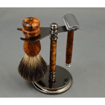 Custom Hardwood Razors