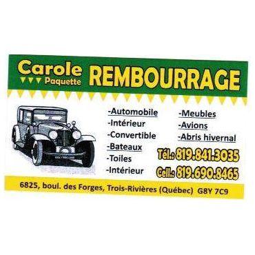 Rembourrage CAROLE PAQUETTE logo