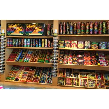 Wall of Fireworks