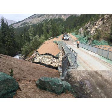 Jasper NP - Hydroseeding & Erosion Work