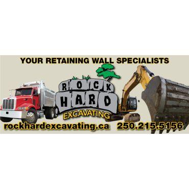 Rockhard Excavating logo