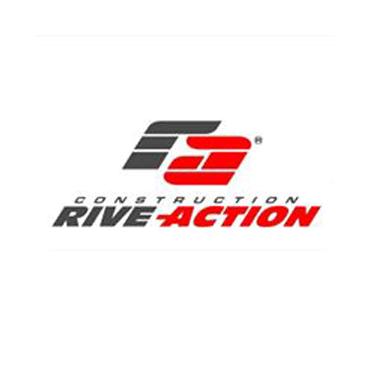 Construction Rive-Action Inc. logo