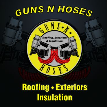 GUNS N HOSES ROOFING EXTERIORS & INSULATION PROFILE.logo