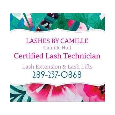 Lashes by Camille logo