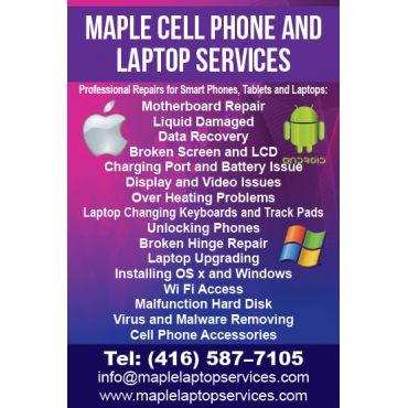 Maple Cell Phone and Laptop Services PROFILE.logo