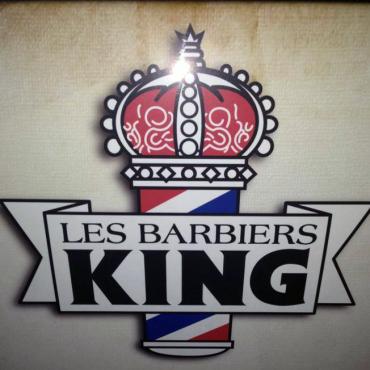 Les Barbiers King logo