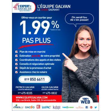 L'Expert Immobilier PM Équipe Galvan Courtiers Immobilier logo