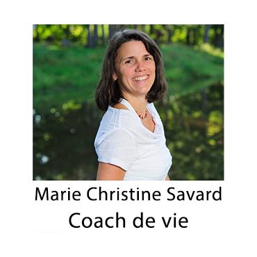 Marie Christine Savard - Coach de vie logo